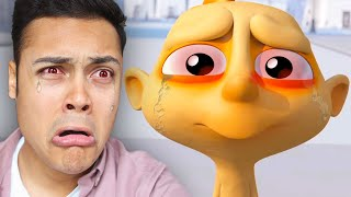 REACTING TO SAD ANIMATIONS TO CRY ABOUT