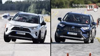 The new Toyota RAV4 fails the moose test