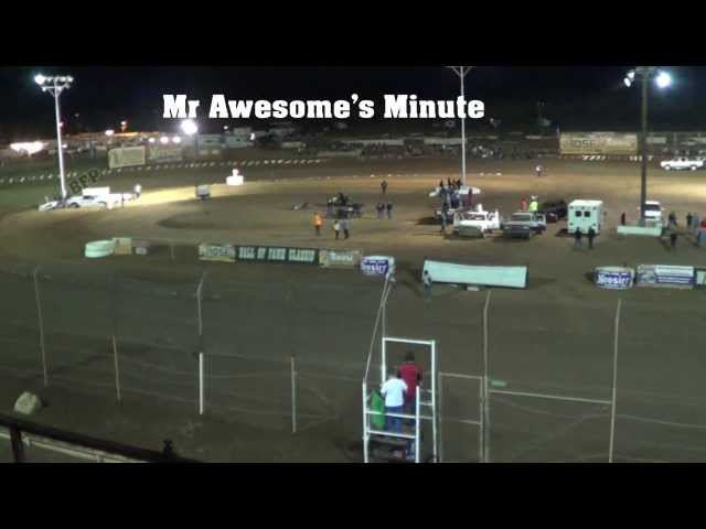 Mr Awesome's Minute -Nov 18th 2013- Fireworks Salute