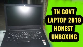 Government Laptop 2019 Honest Unboxing || TAMIL DATA TECH