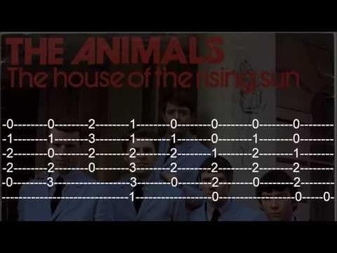 House Of The Rising Sun - Guitar Tab