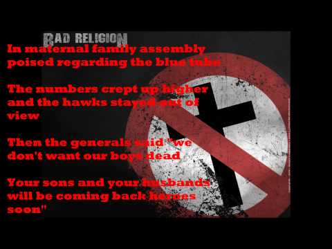 Bad Religion - Drunk Sincerity