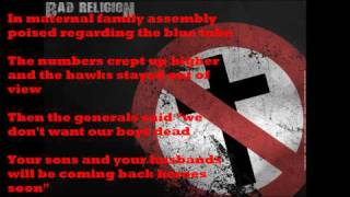 Watch Bad Religion Drunk Sincerity video