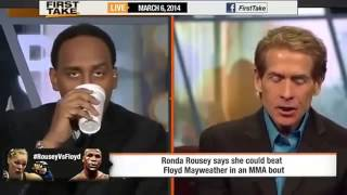 Ronda Rousey Says She Would Beat Floyd Mayweather In A MMA Fight! Video HD [HD]