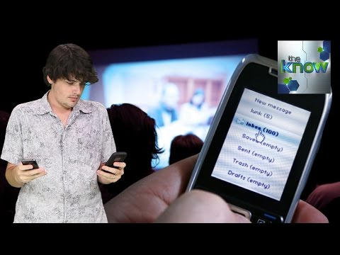 Your In-Theater Texts Could Appear on Movie Screens - The Know