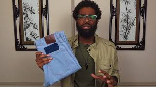 MTailor Jean's and Shirt Review