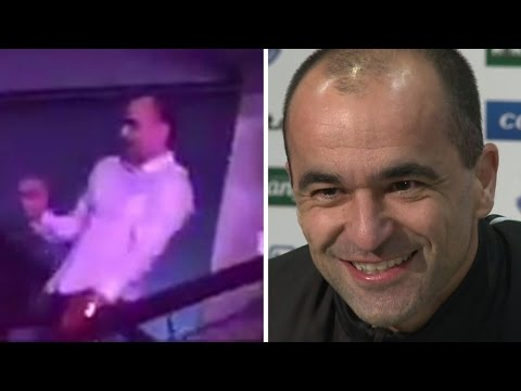 Roberto Martinez Spotted Dancing At Jason Derulo Concert - Admits He's A Big Fan