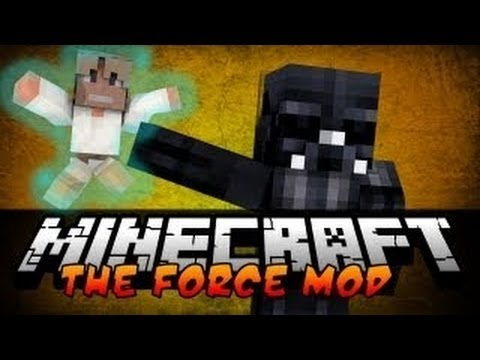 THE FORCE MOD!   Minecraft 1.6.2 Mods (Mod Showcase)