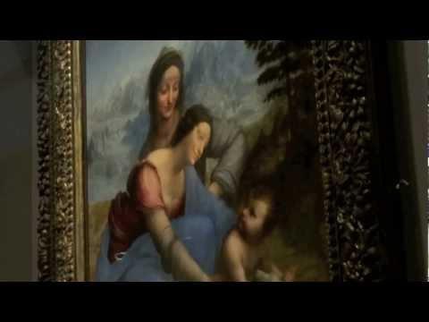 Leonardo da Vinci-The Virgin & Child with St Anne
