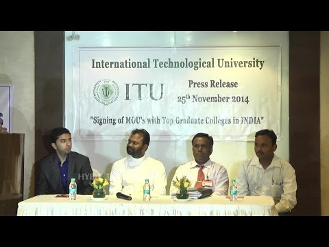 Signing of MoU With Top Graduate Colleges In INDIA-Hybiz.tv