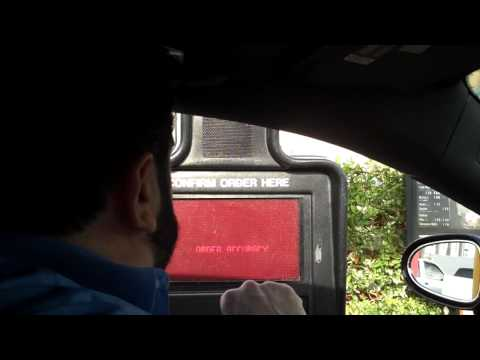 Billy Mays Orders Food From A McDonald's Drive Thru