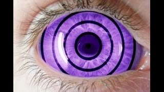 Rinnegan Contact Lenses - 9mmSFX Purple Sclera Anime Naruto Rinnegan Contact Lens Review 2017