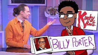 Muh Dik Shiniqua Queer Nigger Billy Porter On Small Dicks @Jordan_Roth