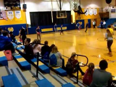 Monroe Catholic High School Dodge ball
