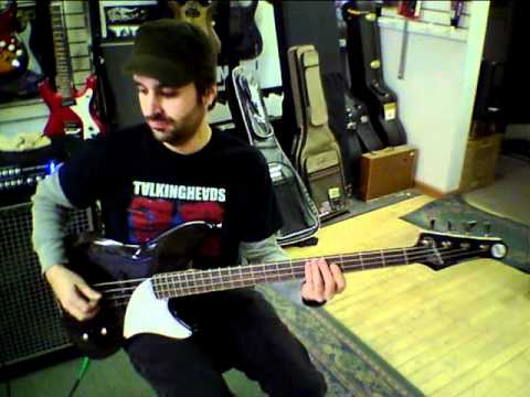 MTD Michael Tobias Kingston Series CRB 4 String bass test overview. Grancentral Music