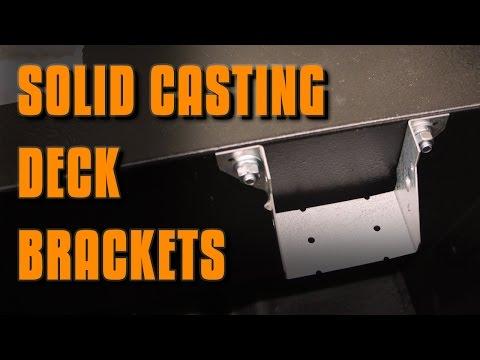 Jon Boat Mods: Casting Deck Brackets