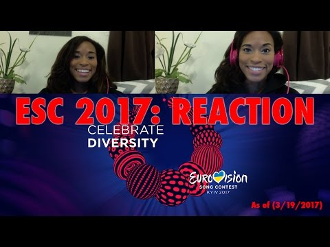 REACTION: Eurovision 2017 (All 43 Songs!)