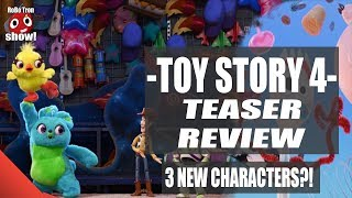 Toy Story 4 Teaser Trailer REVIEW - Forky, ducky and bunny!