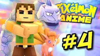 Pixelmon Anime ? PEWTER CITY GYM! (Minecraft Pixelmon Roleplay) Episode 4