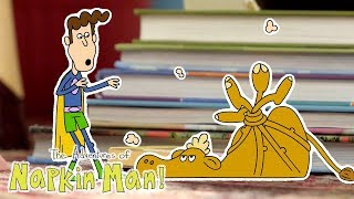 The Adventures of Napkin Man | MOROCCAN MUSIC | Episode | Cartoons for Kids