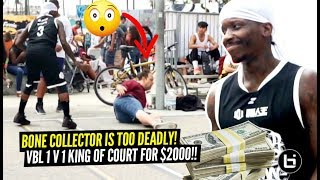 1V1 King Of The Court For $2000!! Bone Collector SNATCHES Defender's SOUL at VBL!!