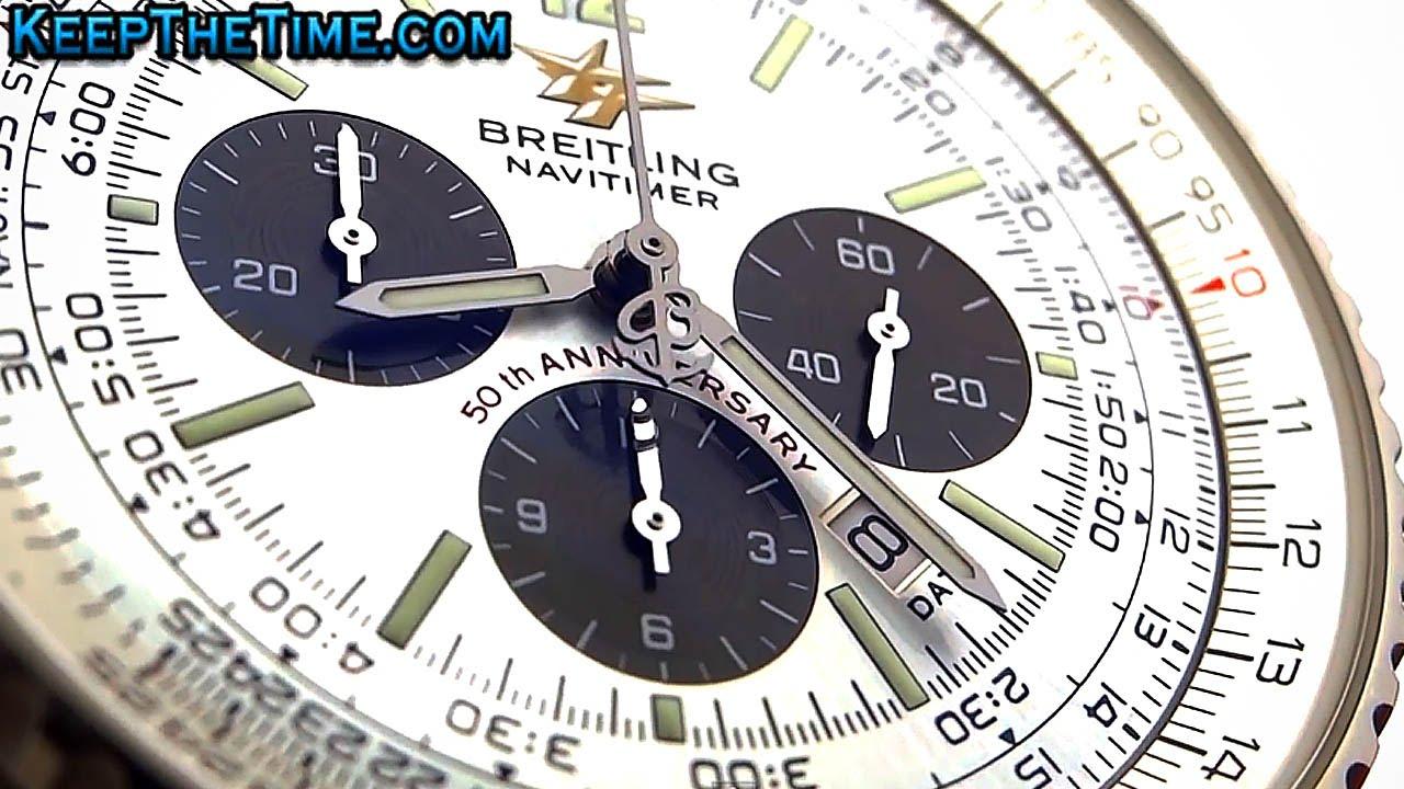 how to use breitling chronometre navitimer