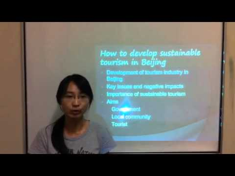 How to develop sustainable tourism in Beijing