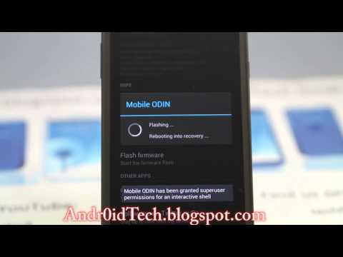 How to Unroot Samsung Galaxy Note 2 using Mobile Odin