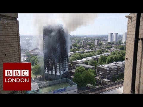 Fire safety in London's tower blocks - BBC London News