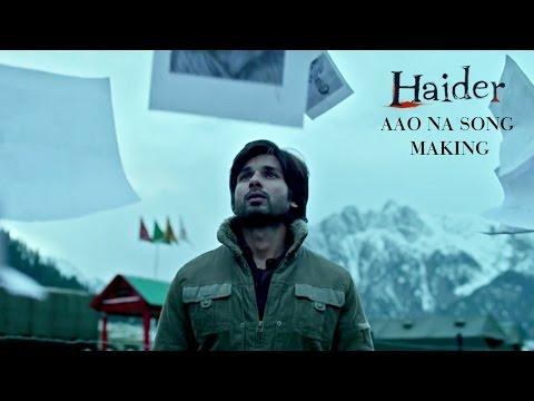 Haider Aao Na Song Making | Music: Vishal Bhardwaj | Shahid Kapoor, Shraddha Kapoor
