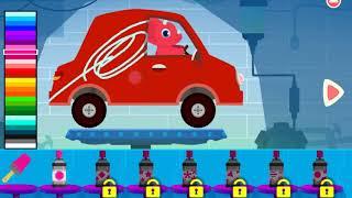 Trò chơi trẻ em: bé lái xe ô tô
