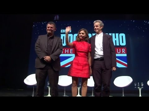 Rio Q&A Highlights w/ Peter Capaldi, Jenna Coleman & Steven Moffat - Doctor Who World Tour