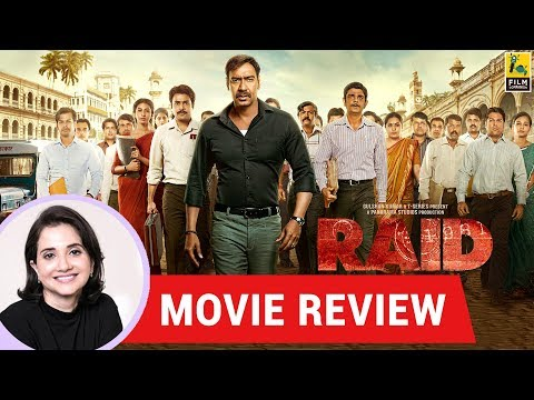 Anupama Chopra's Movie Review of Raid   Raj Kumar Gupta   Ajay Devgn. Ileana D' Cruz