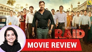 Anupama Chopra's Movie Review of Raid | Raj Kumar Gupta | Ajay Devgn, Ileana D' Cruz