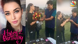 Amy Jackson Celebrates Her Birthday with Superstar