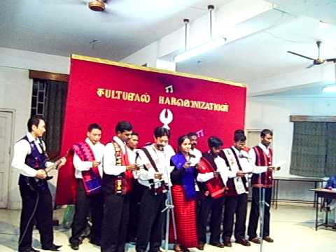 serampore college -Cultural Harmonization 2009.AVI