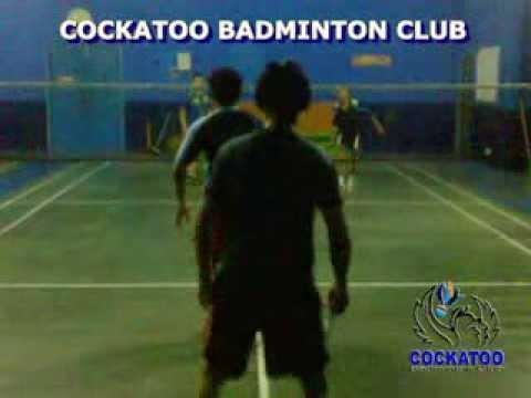 Cockatoo Badminton Latihan Ganda video