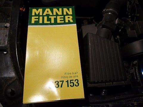 Замена фильтров шкода октавия