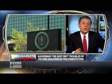 Judge Napolitano: NSA Data Leak To DEA 'Extremely Disturbing'