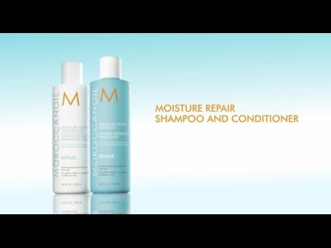 How To: Moroccanoil Moisture Repair Shampoo and Conditioner
