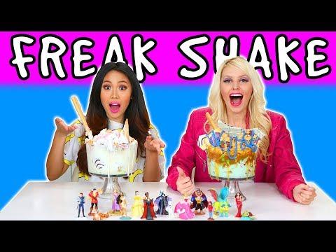 Freakshake Challenge. We Try Extreme Milkshakes. Totally TV