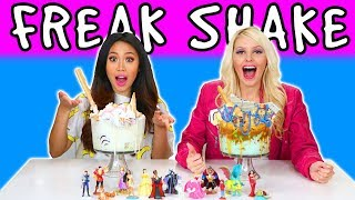 Freakshake Challenge. We Try Extreme Milkshakes. Totally TV