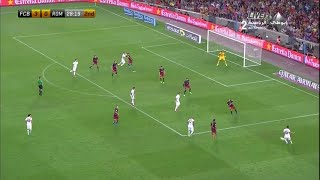 (Highlights)  AS Roma vs Barcelona  (Joan Gamper Trophy Cup 5-8-2015)