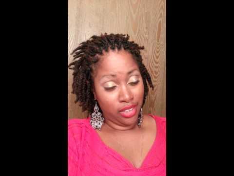 Eon Nubian Silk: how I styled my twists today