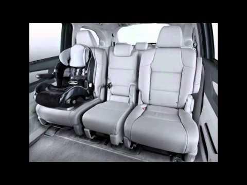 2nd Row And 3rd Row Magic Seat 2011 Honda Odyssey Youtube