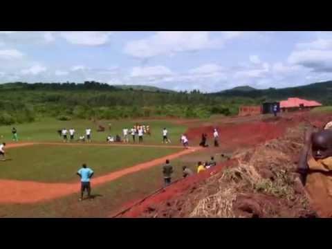 Baseball is catching on in Uganda