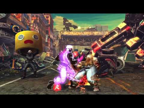 New York Comic Con 2012 - Nuevo tráiler de Street Fighter x Tekken para PS Vita