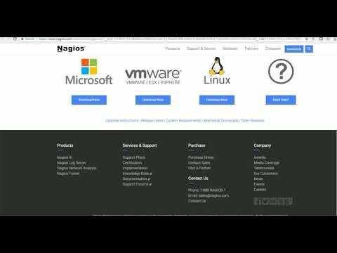 Quick guide to Nagios initial setup installation on ESXi server