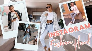 Showing you my INSTAGRAM Outfits!! HUGE TRY ON FASHION HAUL