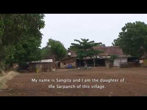 Destruction of a village by mining activities (Jan Samwad Yatra, Gujarat, June 2012)